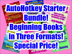 AutoHotkey Beginner's Bundle (EPUB, MOBI, and PDF)