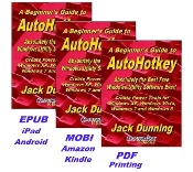 A Beginner's Guide to AutoHotkey (EPUB, MOBI, and PDF Bundle)