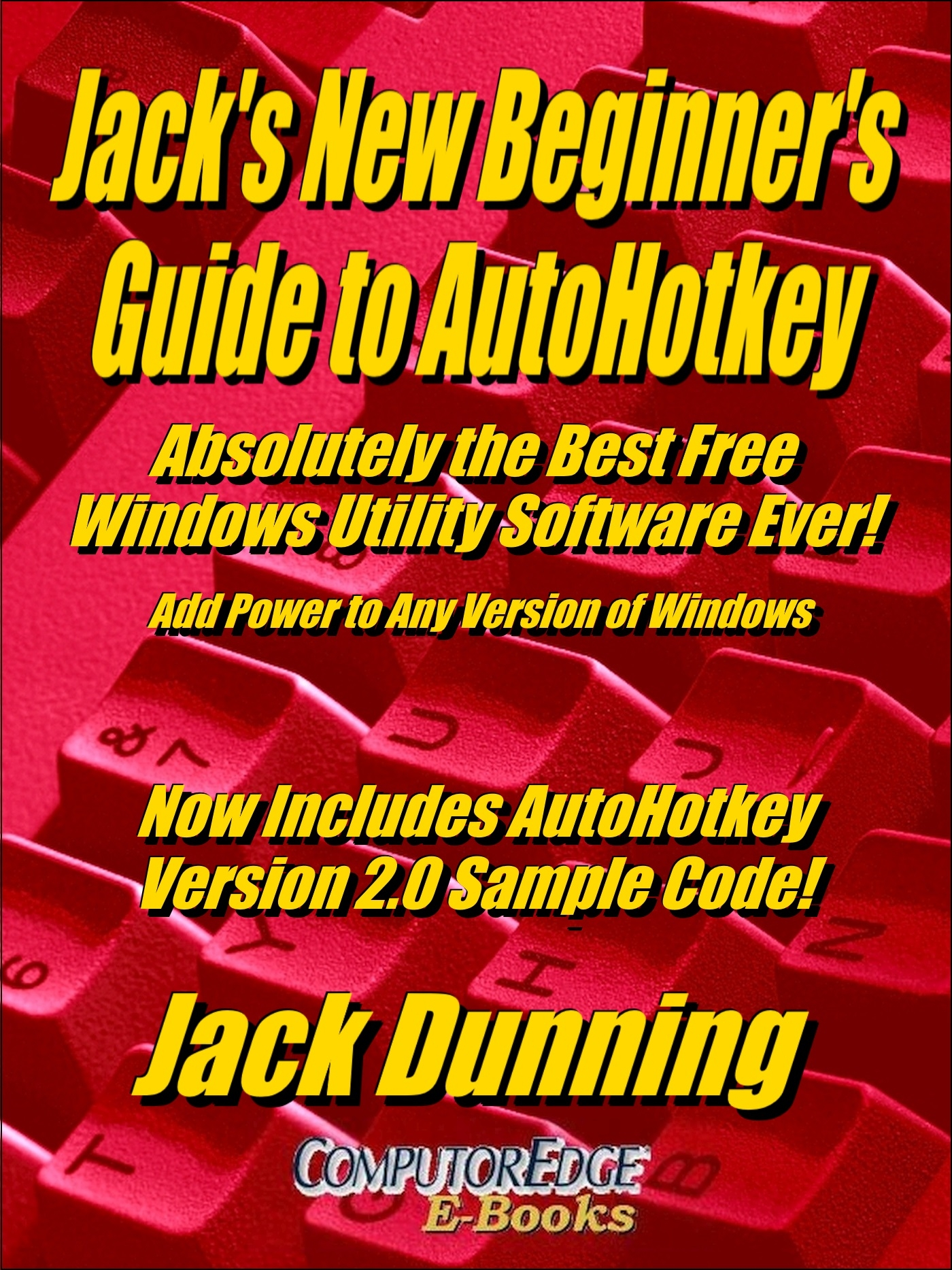 A Beginner's Guide to AutoHotkey, (MOBI for Amazon Kindle)